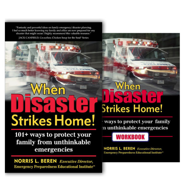 RRED Inc When Disaster Strikes Home Book and Workbook